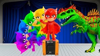 PJ Masks Learn Colors with PJ Masks Toys for Kids | Surprise Colorful PJ Masks Toy for children # 3