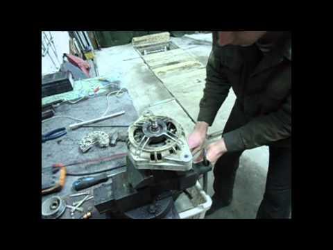 видео: ремонт генератора 2110