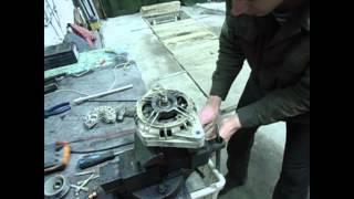 ремонт генератора 2110