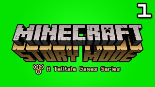 minecraft story mode lets play episode 1 part 1   us vs them
