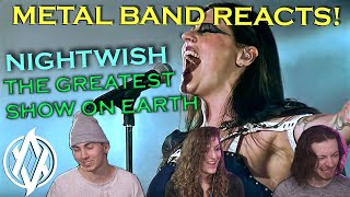 Metal Band Reacts! | Nightwish - The Greatest Show on Earth (Live at Tampere!)