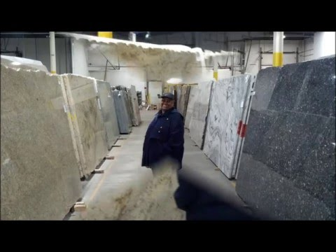 DIY Kitchen Remodeling PART 13 SELECTING THE GRANITE COUNTERTOP