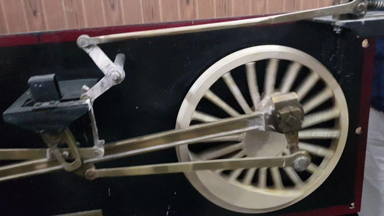 steam locomotive mechanism   steam engines work youtube