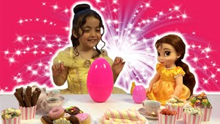 PRINCESS TEA PARTY (PART 2) - Cakes, Dolls, Toys and Dressing Up - Princesses In Real Life