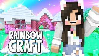 💙 Building A Minecraft Figure Case Collection! Rainbowcraft Ep. 13