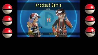 pokemon battle revolution game play parte 1 anima tudo