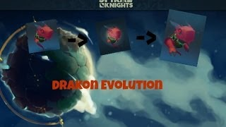 Spiral Knights - Drakon Ultimate Evolution (All 3 Skills)