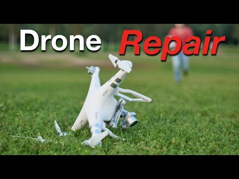 How To Fix Your Drone - DJI Repair Service
