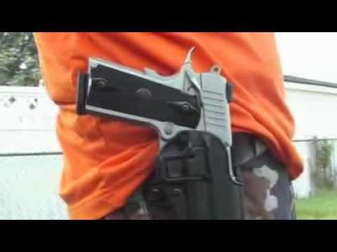 Blackhawk Colt 1911 CQC SERPA Belt Holster Right Hand Matte Finish Black
