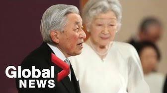 Japanese emperor Akihito abdicates throne