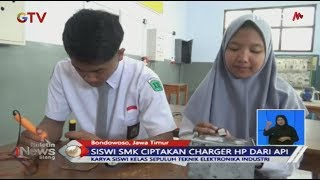 Ciptakan Fire Charger, Siswi SMK di Bondowoso Raih Juara 1 Pemuda Pelopor 2019 - BIS 19/06