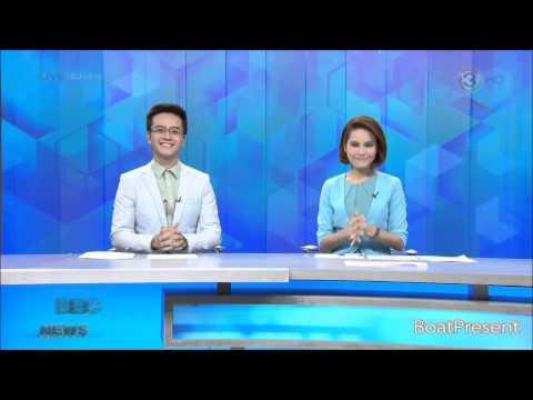 ช่อง 3 HD (ในเครือช่อง 3) : BEC NEWS / เริ่มออกอากาศคู่ขนานกับช่อง 3 (คืนความสุขฯ) (10 ต.ค. 57)