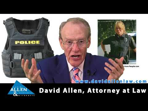 David Allen Legal Tuesday: Female Police Officer Contends City Retaliated against Her