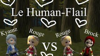 Le Human-Flail ft. Brock31 - and Kyamz? | Rouge