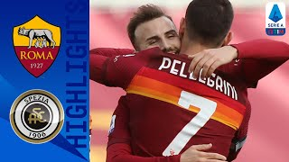 Roma 4-3 Spezia | Pellegrini secures late game victory for Roma | Serie A TIM