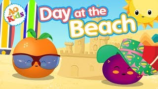 Day At the Beach! | Kid's Beach Day Learning Song