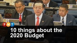 10 things about the 2020 Budget