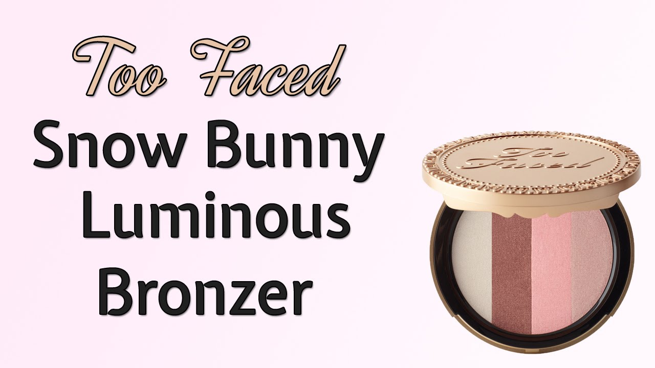 Sun Bunny Bronzer by Too Faced #20