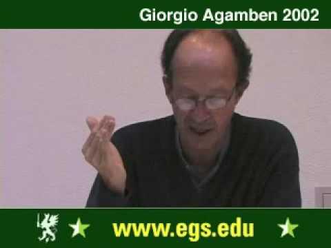 Giorgio Agamben. What is a Paradigm. 2002 1/10