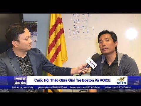 PHÓNG SỰ CỘNG ĐỒNG: Hội thảo giữa một số bạn trẻ tại Boston và tổ chức VOICE