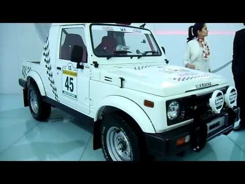Maruti Suzuki Gypsy King Sports Racing Version at Auto Expo 2012, New Delhi, India