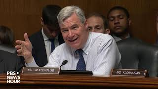 WATCH: Sen. Whitehouse asks why Barr did not disclose Mueller letter earlier