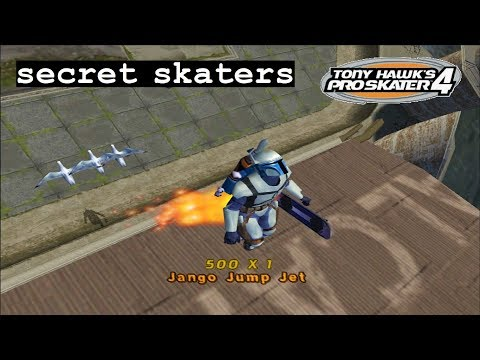 Tony Hawk's Pro Skater 4 (PS2) - Secret Skaters
