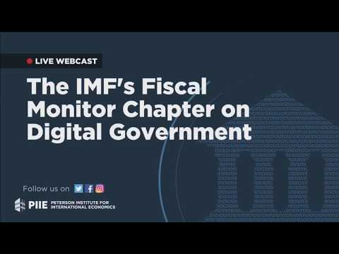 The IMF's Fiscal Monitor Chapter on Digital Government (Event)