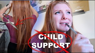 CUTTING my hair & Cancelling Child Support