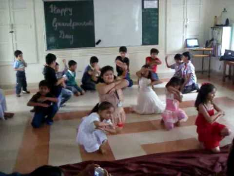 Indus World School (Class II Ulhas)  - Grand Parent Day Performance by Kids