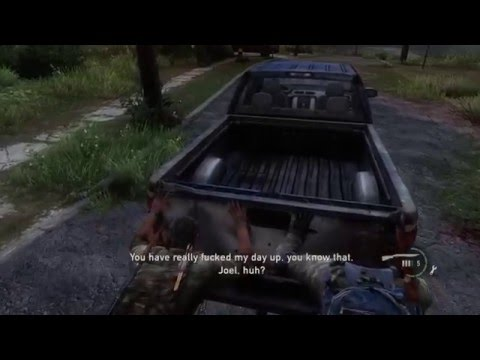 The Last of Us™ Remastered   Bill is a miserable prick / why are the pages stuck together