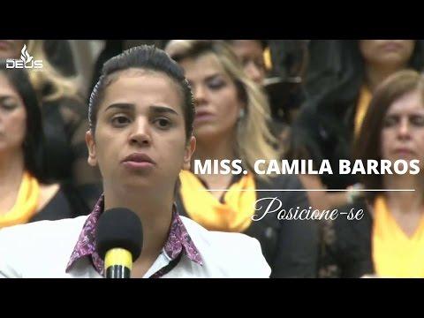 Pregação Miss. Camila Barros- CIBET 2016   Posicione-se