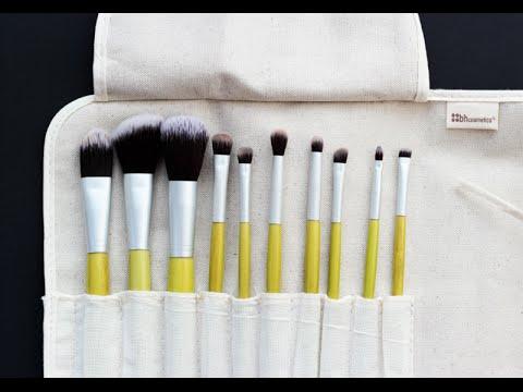 Обзор набора кистей для макияжа BH cosmetics Eco brush set
