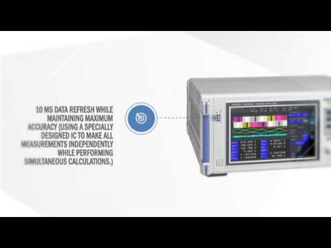 POWER ANALYZER PW6001 – Hioki USA