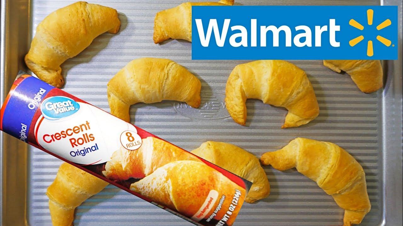Walmart Great Value Crescent Dinner Rolls Youtube