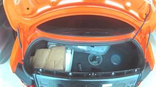 2015 Ford Mustang Rear Decklid / Emblem removal