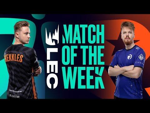 #LEC Match of the Week | FNC vs OG | SAT July 27th
