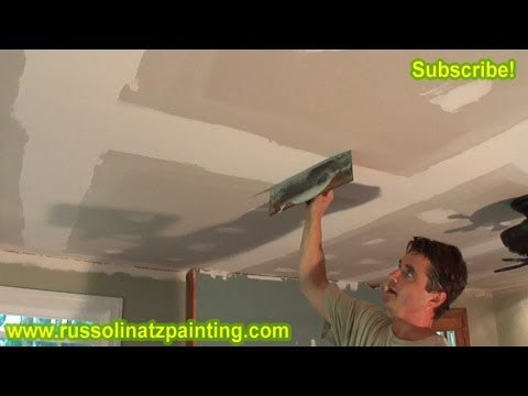 Fixing a Bad Tape job - (Part 3) Drywall Repair & Wall Preparation