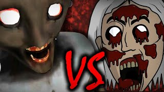 Monster granny VS granny 2D