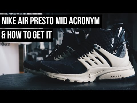 THE SNKRS - NIKE AIR PRESTO MID ACRONYM