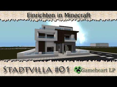 Full download minecraft moderne villa lets show bauplan for Modernes haus command