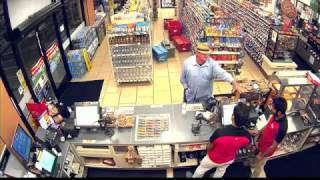 Robbery at Convenience Store Caught On Video   NR17006jh
