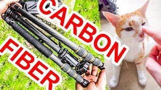 Mactrem AT64C Carbon Fiber Tripod & Monopod REVIEW
