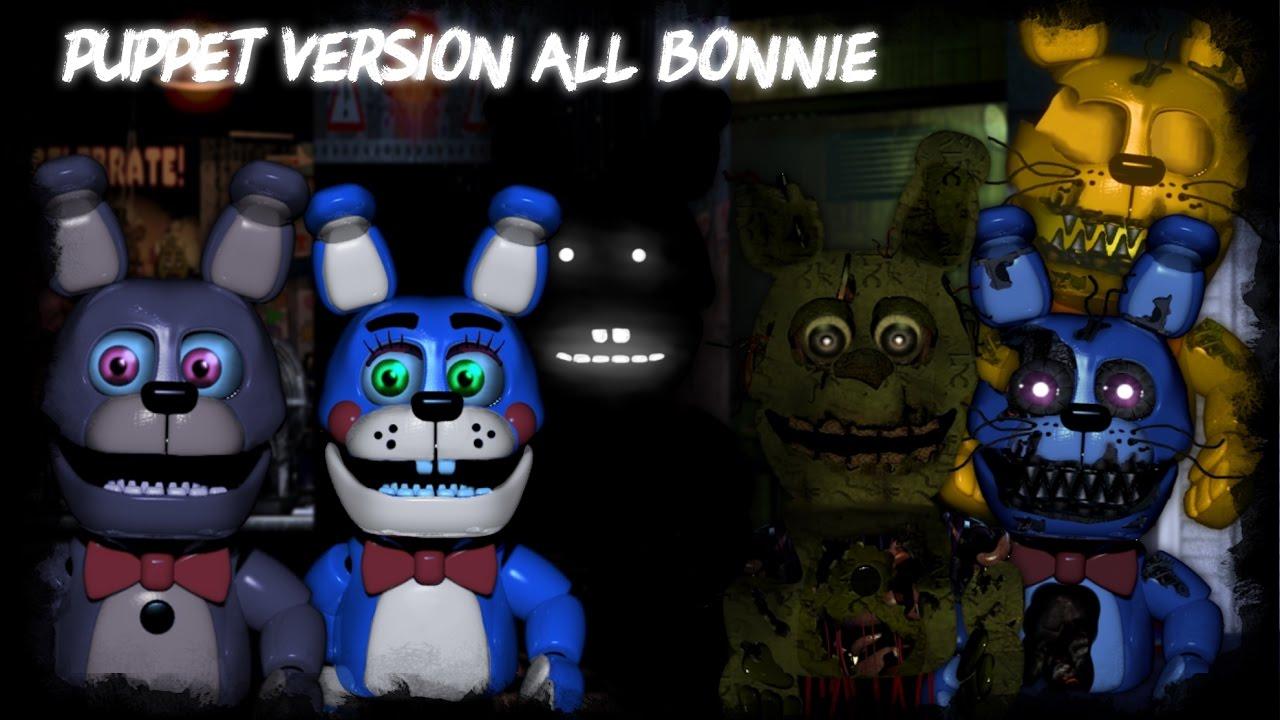 fnaf speed edit making puppet version all bonnie part1