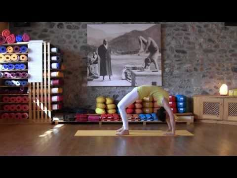 The Shoulderstand and variations from the Sivananda Yoga asana series