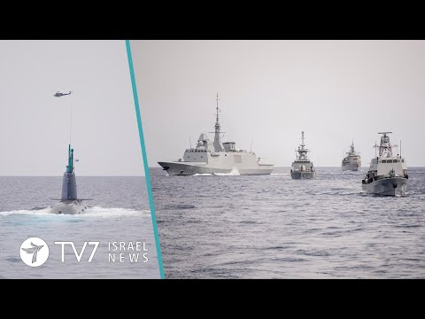 Israel-France-Greece-Cyprus End EastMed Drill; Iran Shunned From Syria Talks - TV7 Israel News 12.03