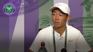 Chun Hsin Tseng Boys Final Press Conference