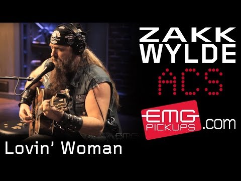 Zakk Wylde performs Lovin' Woman live on EMGtv