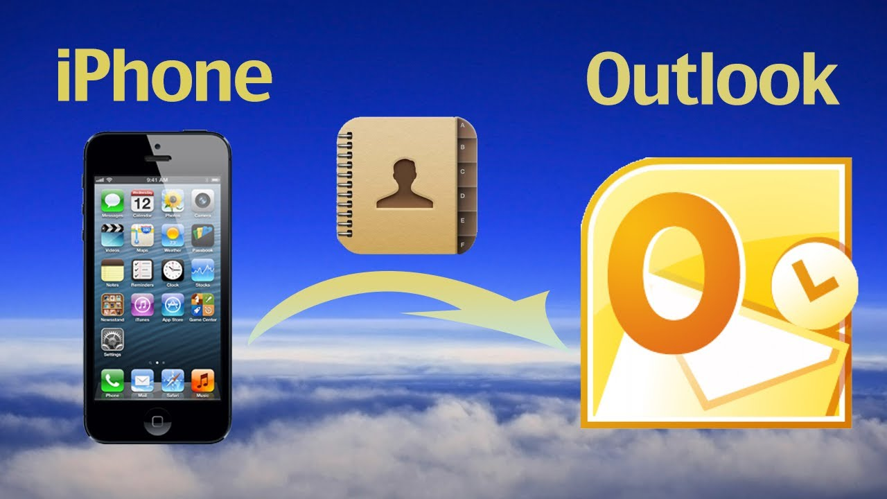 How to export contacts from iPhone to outlook? How to transfer/sync iPhone  contacts to outlook 2010?