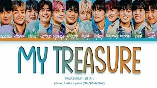 Download TREASURE (트레저)  'MY TREASURE'Japanese Ver. (Color Coded Lyrics JPN/ROM/ENG)トレジャ